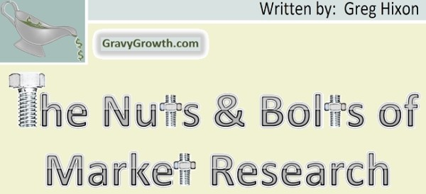 The Nuts and Bolts of Market Research