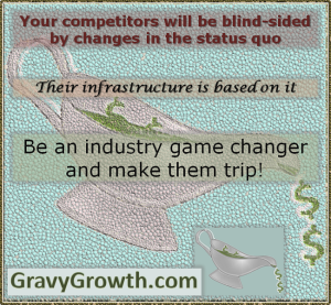 change the status quo, Industry game changer, business, entrepreneurship, marketing, status quo, paradigm shift, Greg Hixon, GravyGrowth