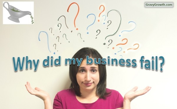 Why Did I Suffer Business Startup Failure?