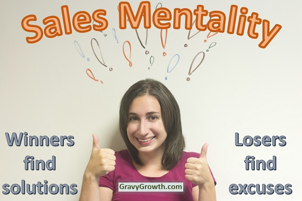 Sales mentality – what works and what doesn't?