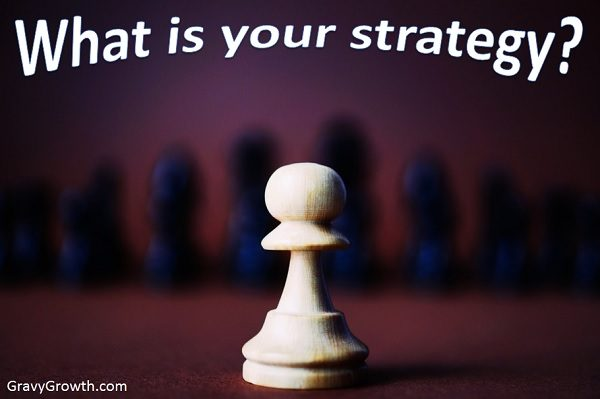 If 80% of success is showing up, 20% depends on your strategy