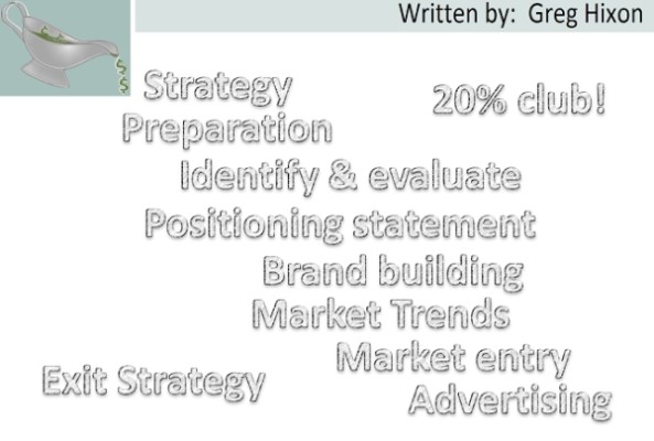 advertising, business model, business plan, business startup, business strategy, competitive analysis, demographics, market research, market trends, positioning statement, product differentiation, tagline, target audience, branding, business, entrepreneurship, Greg Hixon, GravyGrowth