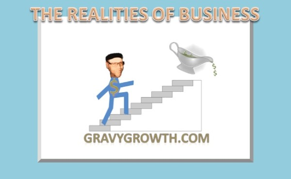 Realities of business, business startup, business, entrepreneurship, Greg Hixon, GravyGrowth